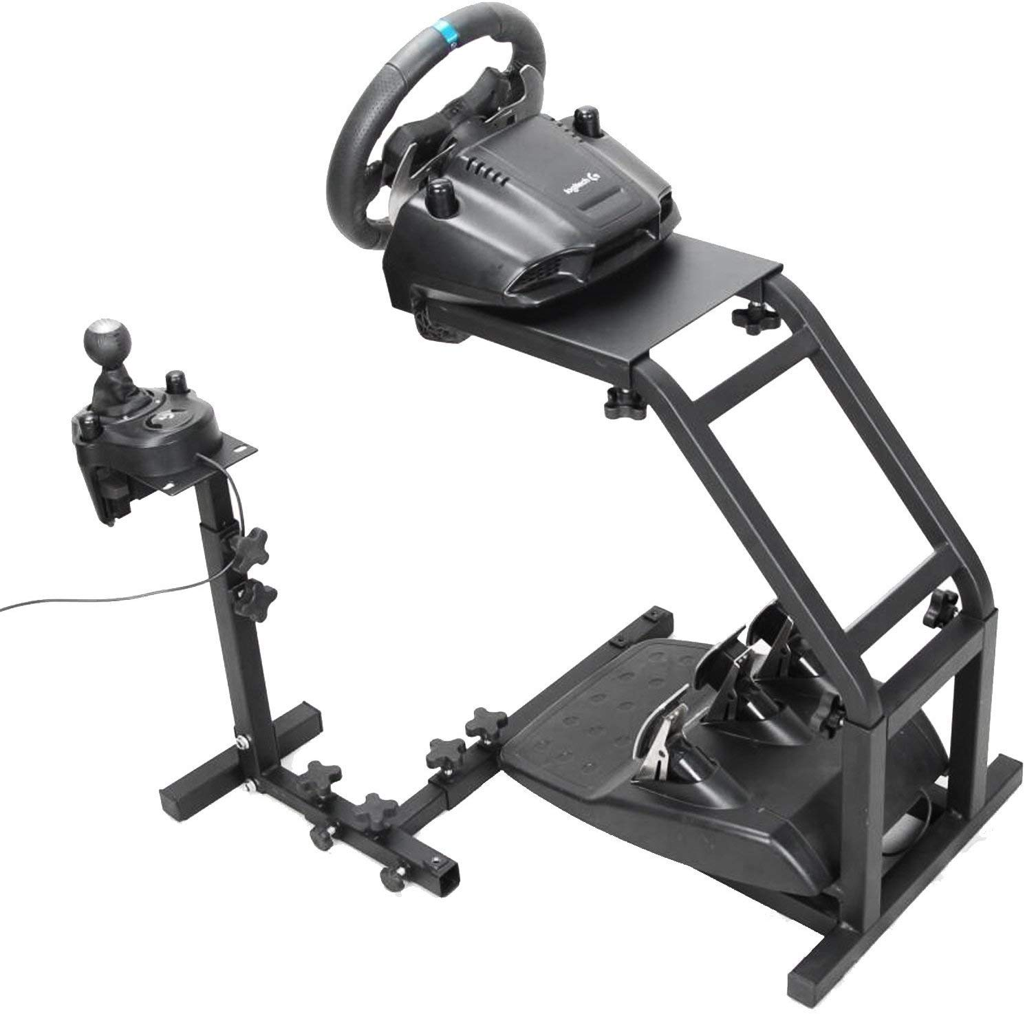 bf183639af0 Gloria Racing Steering Wheel Stand Pro with V2 Stand Up Simulation Driving  Bracket for Logitech G29