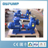 Self-priming screw fuel oil pump