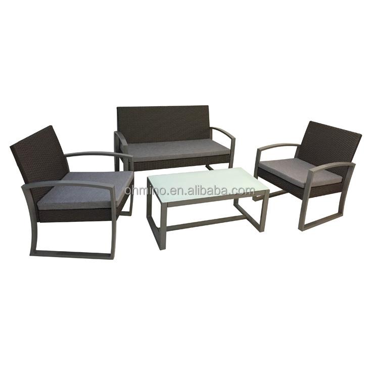 Muebles de exterior de alta espalda rota conjunto nuevo estilo ...