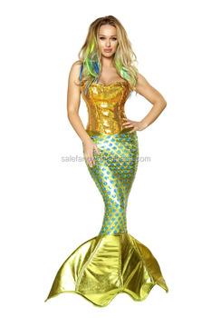 siren of the sea deluxe mermaid fancy dress wholesale women brazil costume one of a kind