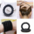 Factory supply telephone wire rubber coil hair band