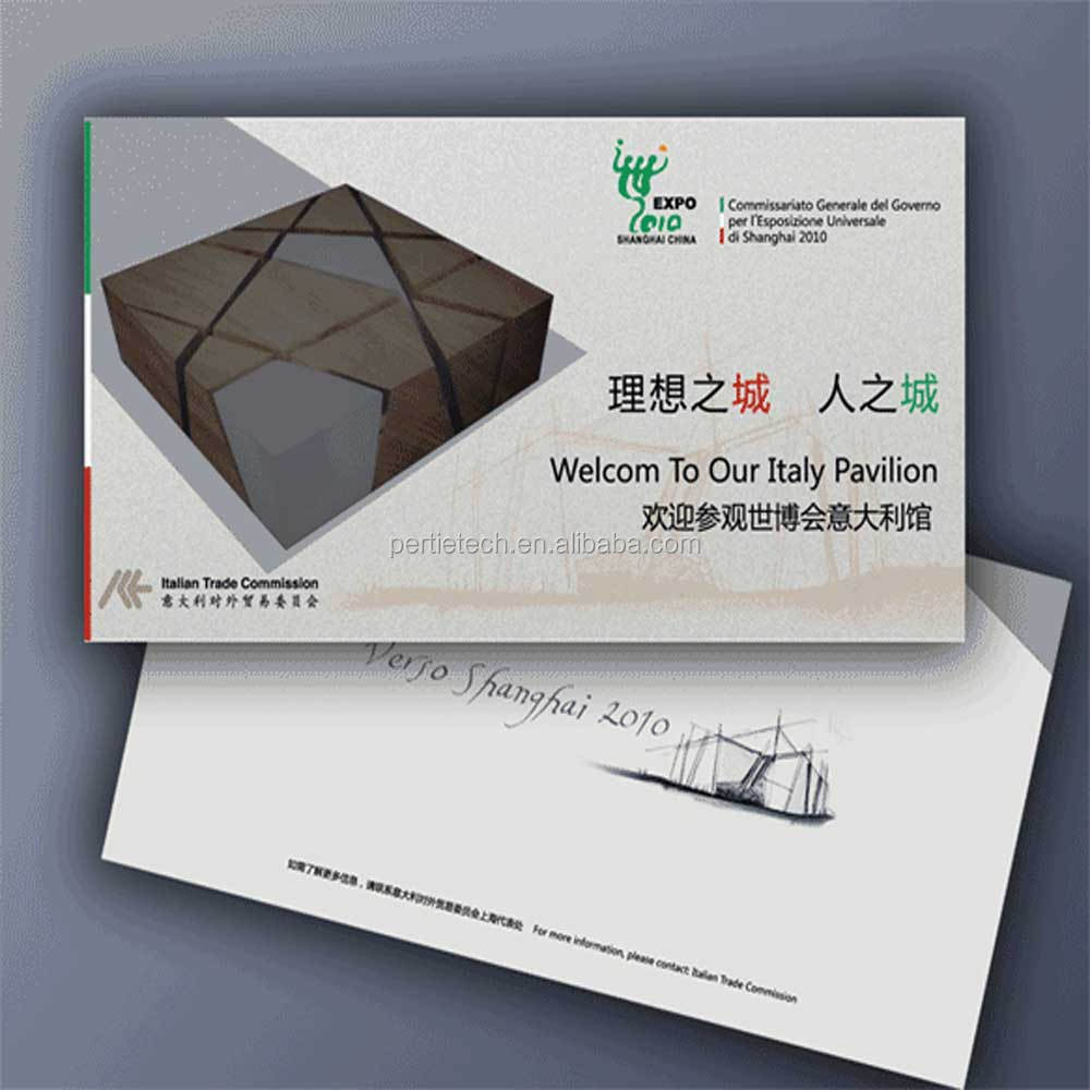 Epaper Inserted Business Card,Invitation Cards Insert With E Paper ...