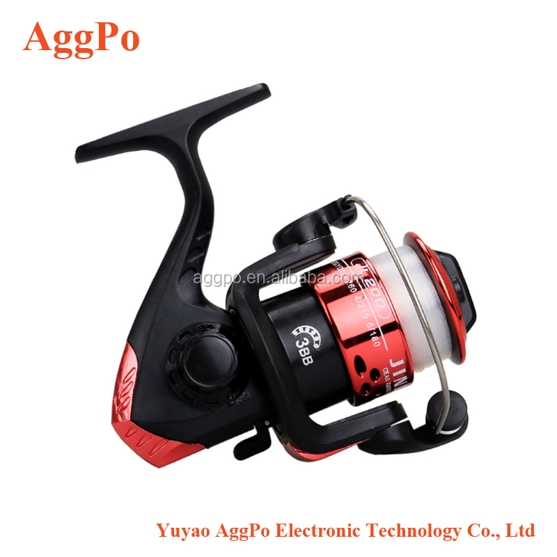Cheap Fishing Reel for Beginner Come With Fishing Line, Lightweight Aluminum Material Spinng Fishing Reels Small Spinning Reels
