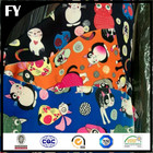 100% pure silk digital printed cats printed textile fabric for garments