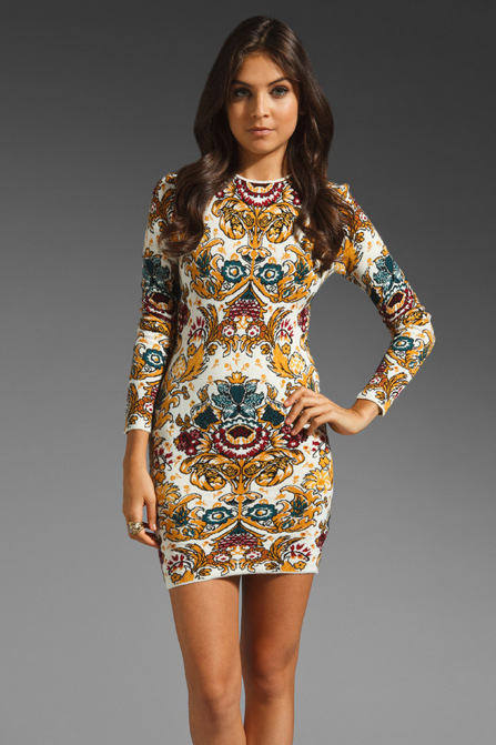 Sunflower Pattern Dress Images
