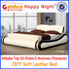 Golden Furniture discount promotion price double bed design furniture 2768