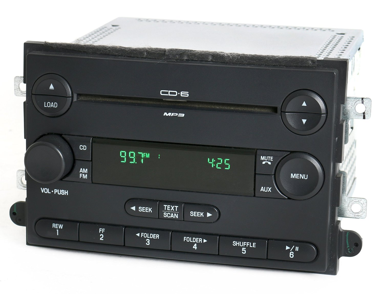 Mercury 2007 Milan Ford Fusion Radio AM FM 6 Disc CD Part Number 7E5T-18C815-AD