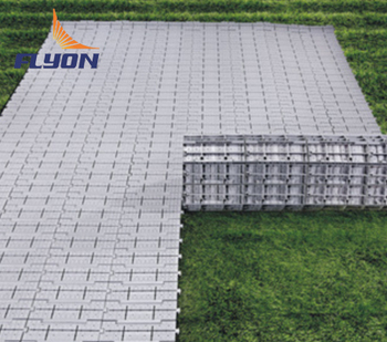 Modular Portable Outdoor Flooring Turf Protection Floor Event With Channel For Stage