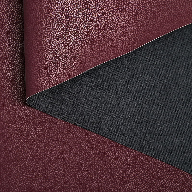Recycled Upmarket Suede Microfiber Backing Good Handing Vegan Pvc Pu Synthetic Rexin Leather