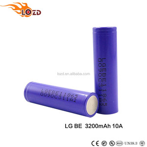 Brand 3.7v 18650 Be 3200mah 20A Lithium Ion Can Be Customized Battery
