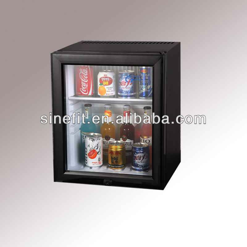 12 Volt Glass Door Small Refrigerator For Hotels Buy Glass Door