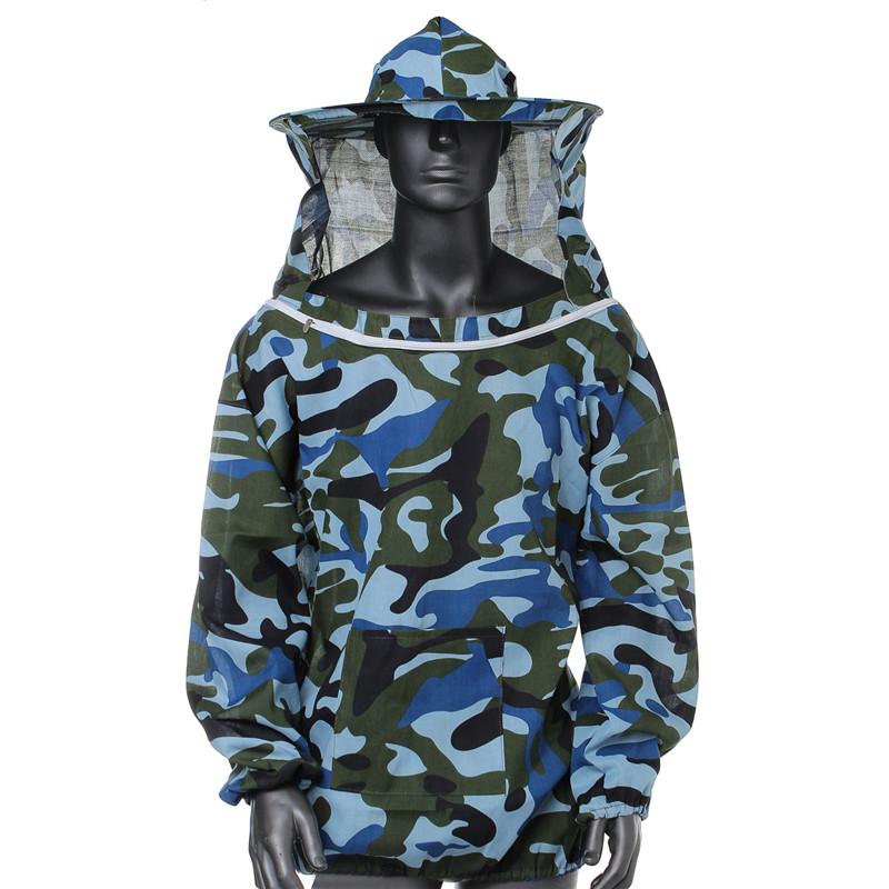 Новое поступление высокое качество пчеловодство куртка вуаль смок поставки оборудования пчеловодство шляпа рукав костюм