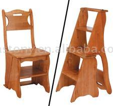 Wooden Step Stool Chair, Wooden Step Stool Chair Suppliers And  Manufacturers At Alibaba.com