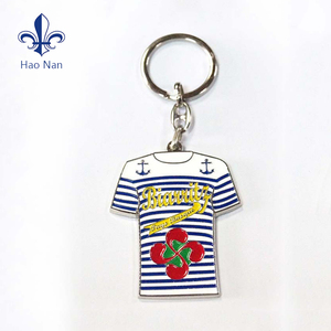 Cheap wholesale professional custom fashion metal material keychain with logo