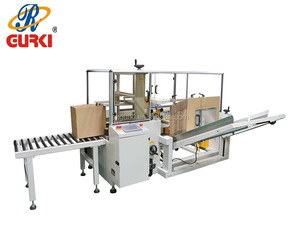 Auto tray erector Carton Erector Auto case forming and bottom sealing machine auto glue sealing tray erector