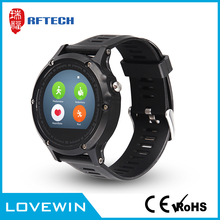 "Water-proof 1.22"" 240*204 IPS screen vtech kidizoom smart watch With plastic case and silicone band"