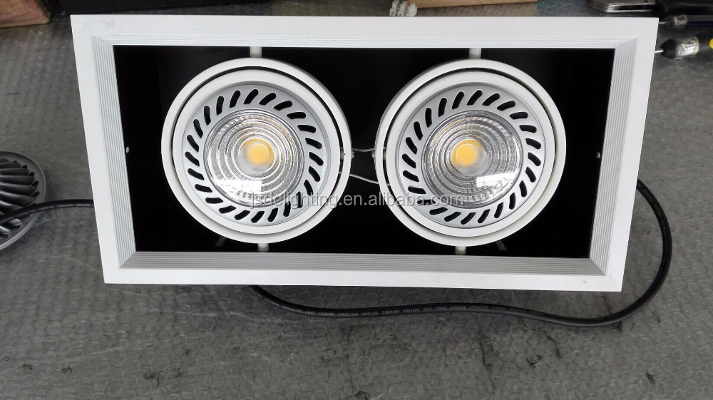 Aluminum housing GU10 G53 LED 30W Downlights