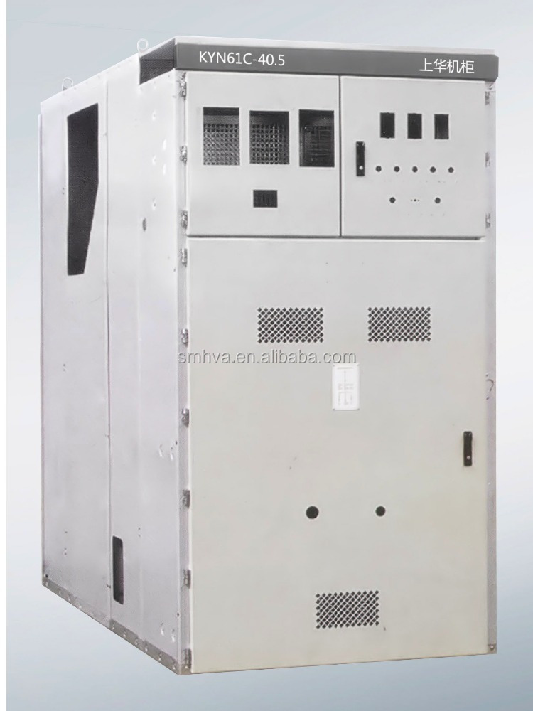 KYN61C--40.5 Metal clad removable ac power enclosed switchgear cubicle high voltage switchgear cabinet
