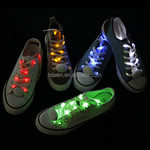 top selling party accessories product 2017 led light strips colorful shoelaces for holiday
