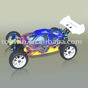 Lightweight Nitro Gas Rc Cars Remote Control Hobby Powered Off-Road Buggy(AM) Simple version