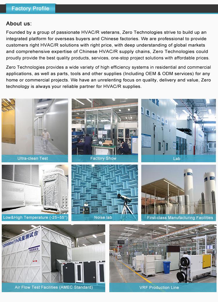 Commercial Air Conditioner น้ำเย็น Hydronic ติดผนัง Fan Coil Unit