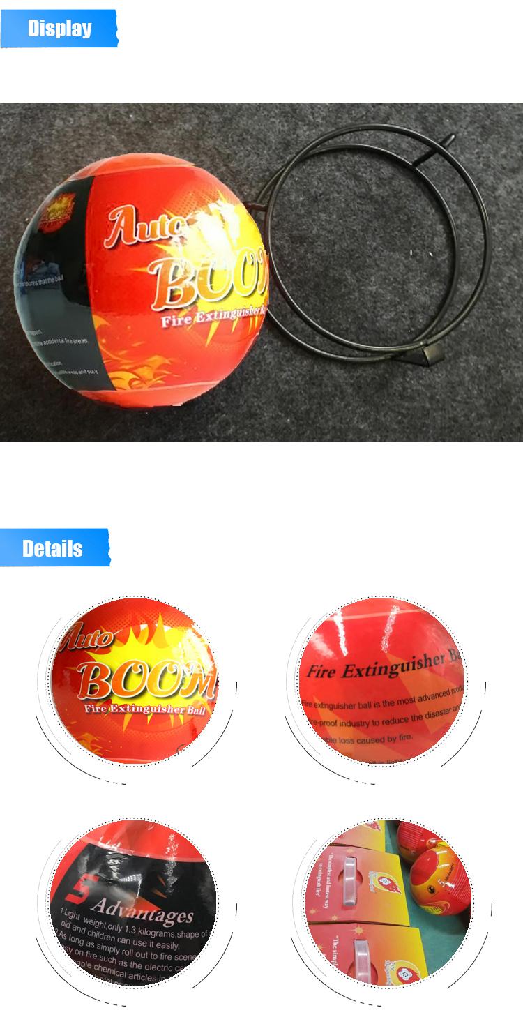 wide protection area fire ball OEM packing design cheap and high quality