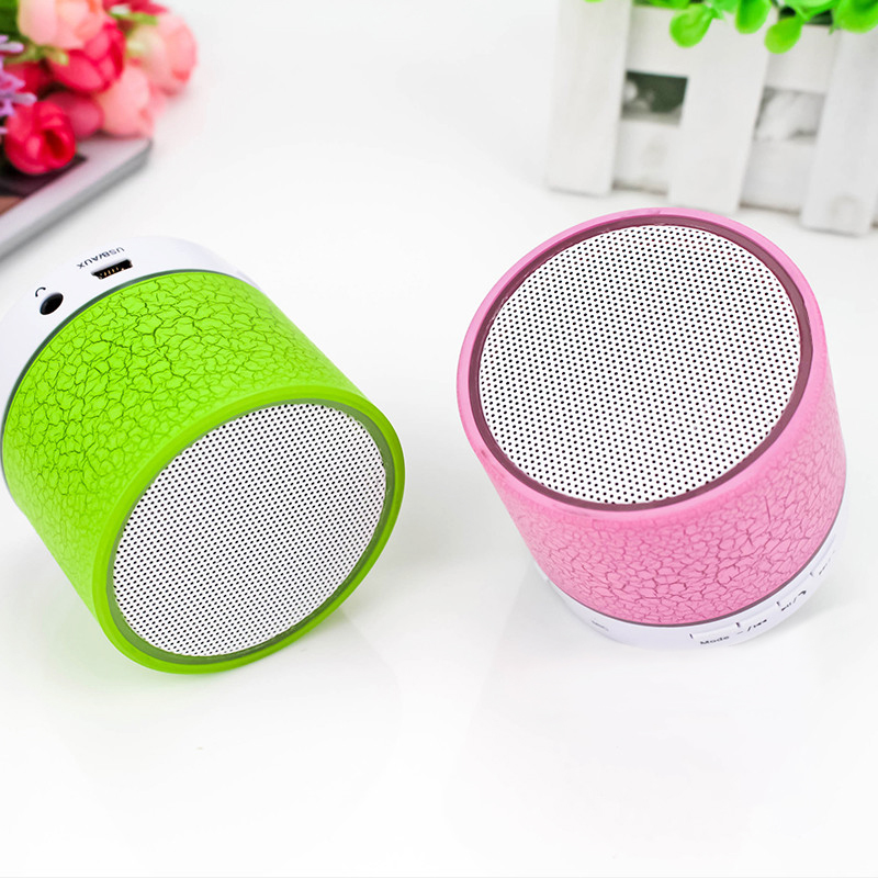 Wholesale A9 Bluetooth Speaker LED Mini Bass Super Woofer Wireless Portable Speaker for Home Party
