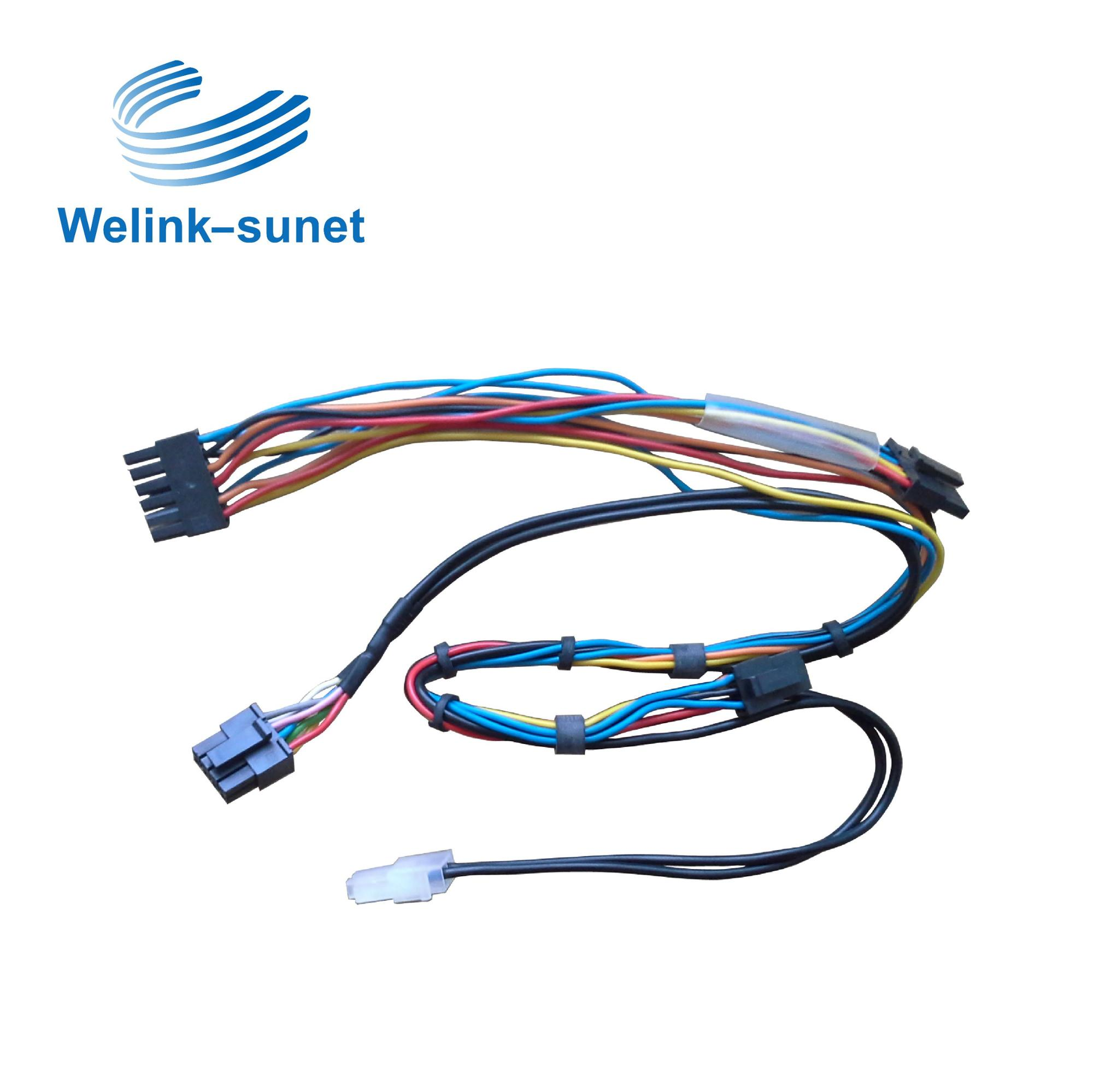 Molex 42mm 6p Connector Add German Standard Lify Cable Wire Harness Wiring For Semiconductor Equipment