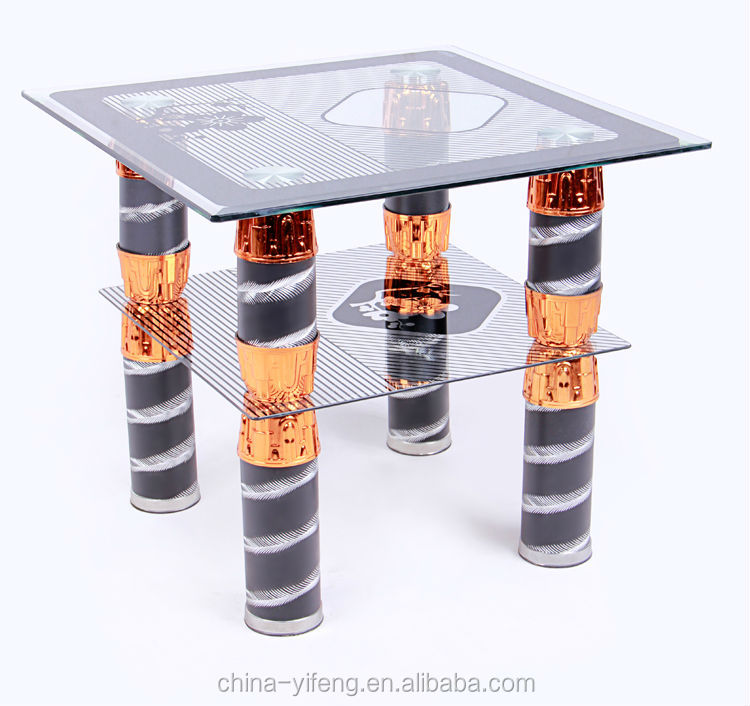 Modern glass teapoy table in wholesale price buy glass for Teapoy table designs