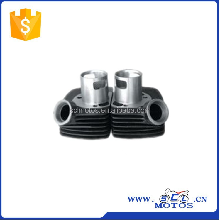 SCL-2013071013 Cylinder Block ,Double Cylinder for JAWA 250 Motorcycle Parts