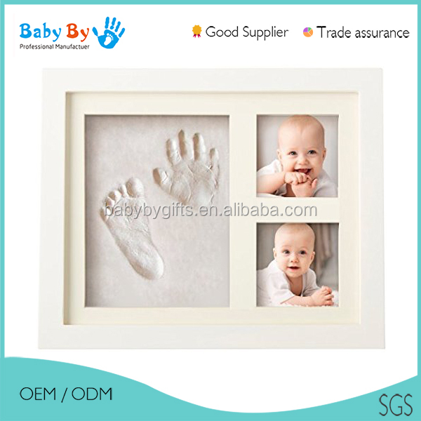 Baby imprint clay handprints footprints keepsake clay kit