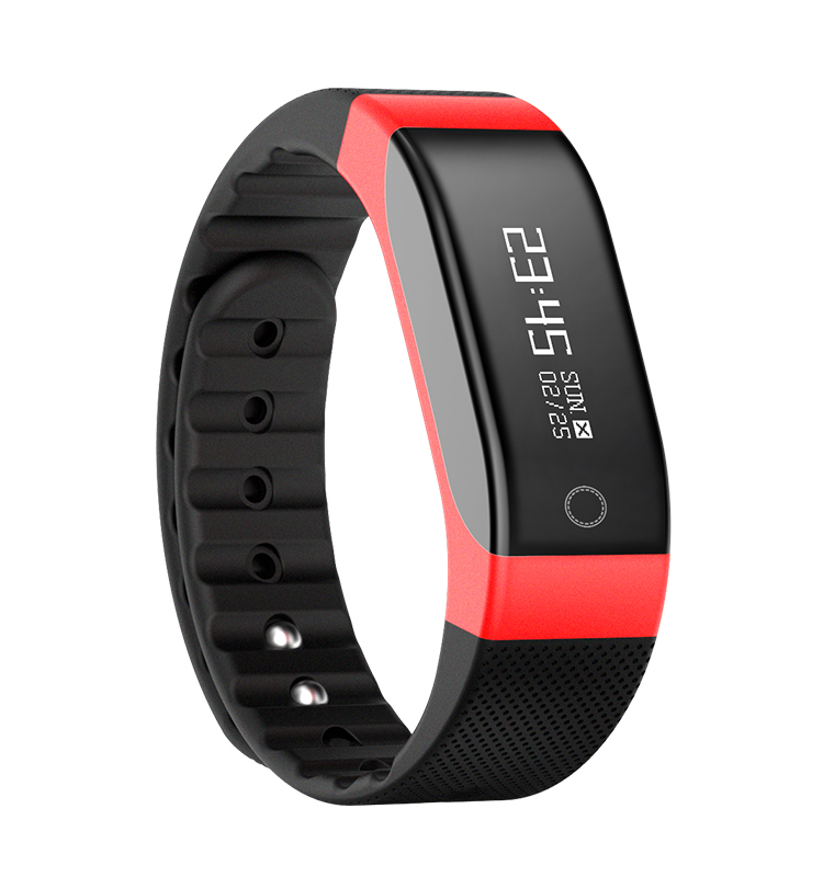 Smart Wristband with Continuous Heart Rate Monitoring and Activity Tracker,Bluetooth Sport Smart Bracelet Watch With SDK