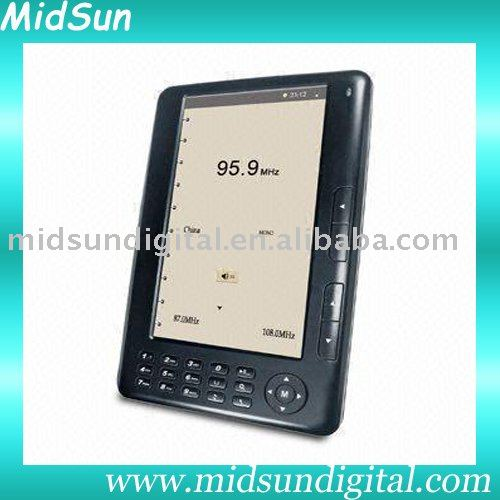 10 inch TFT touch screen mid e-book with WIFI Record FM function and 3G optional