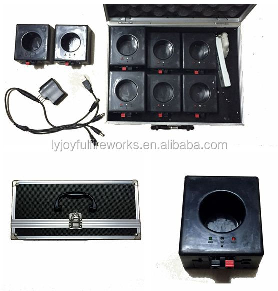 Remote control fireworks firing system( 8 channels cold fireworks firing system)/fountians fireworks firing system
