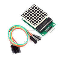 MAX7219 Dot Matrix Module Microcontroller Module Compatible