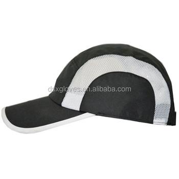 Custom 100 % Polyester Dri Fit Black Cycling Caps Hats Wholesale Running Cap  - Buy Dri Fit Hat 0c2b2b56700