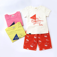 2017 new syle summer children clothing sets wholesale baby girls mustard pie clothing sets