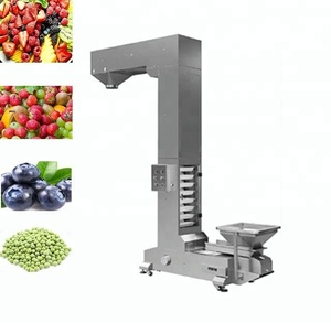 Price high speed chain bucket elevator conveyor for food
