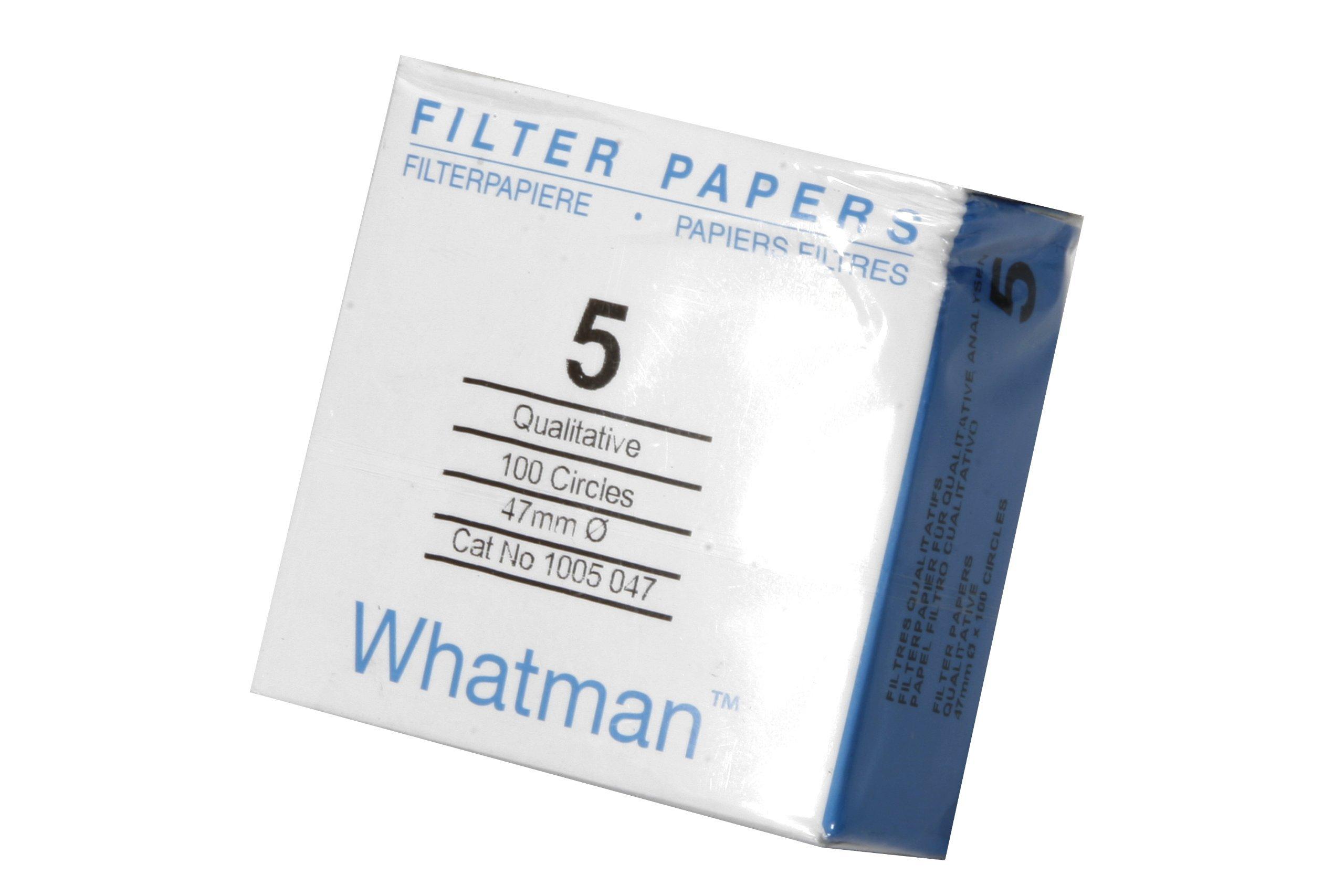 20 Micron Whatman 1441-866 Ashless Quantitative Filter Paper Sheet 8 Length x 10 Width Grade 41 Pack of 100