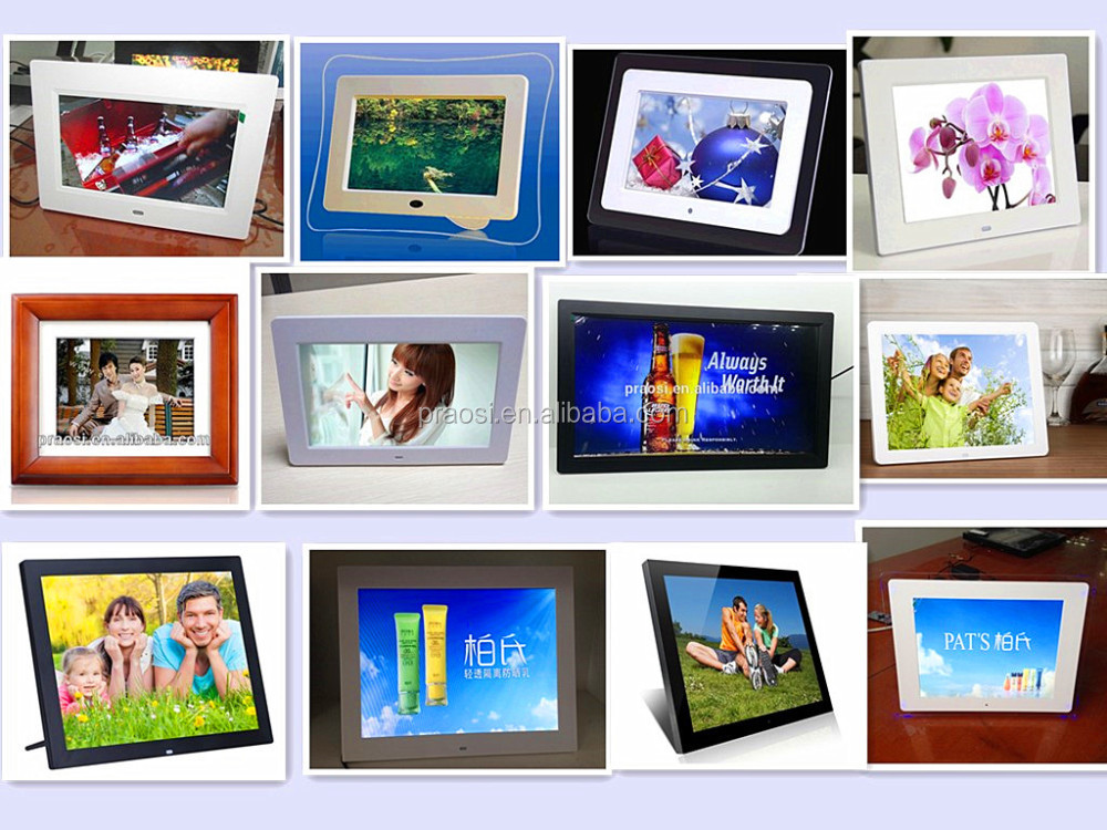 shenzhen factory big promotion (7 inch-32 inch ) digital photo frame