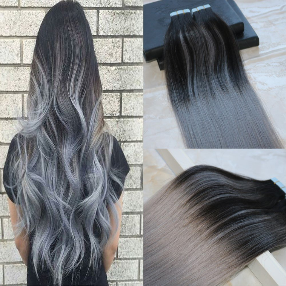 Buy Hairdancing 16 Ombre Balayage Hair Extensions Tape In Hair