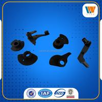 machined steel parts black powder coating