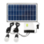 18V 15W solar electricity energy generating system 6Ah lithium ion solar battery for home