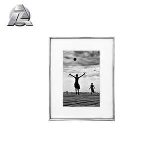Large Silver Craft Bulk 18x24 Inch Aluminum Picture Photo Frames With Mat