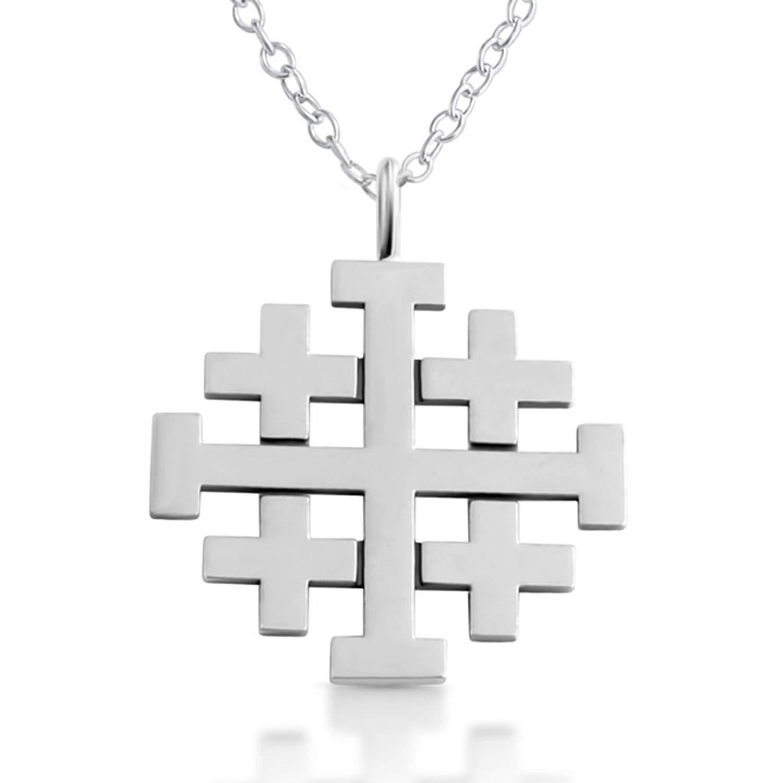 Buy Jerusalem Cross Pendant (Templar Crusaders Necklace) in