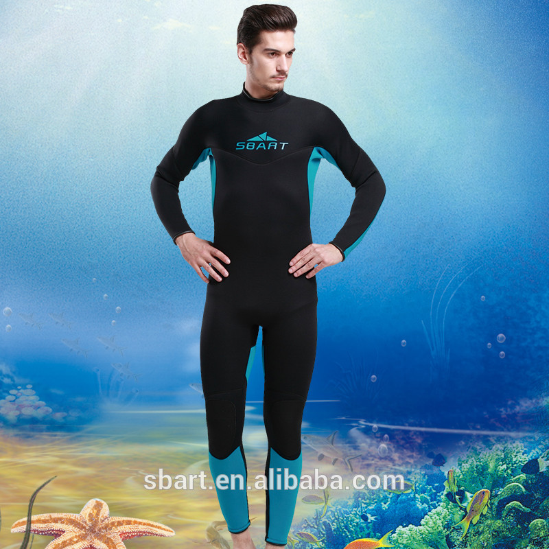 High quality neoprene diving suit ,waterproof ,anti-UV wetsuit for man