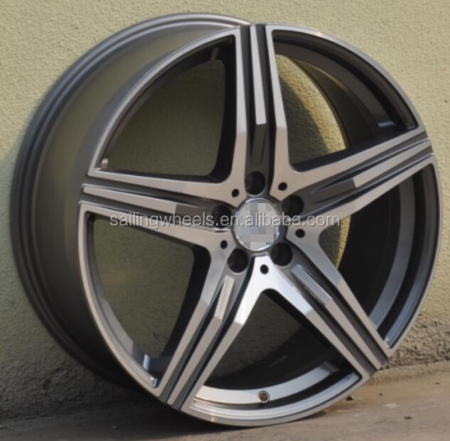 20x8.5 inch china car wheel with <strong>alloy</strong> for amg car
