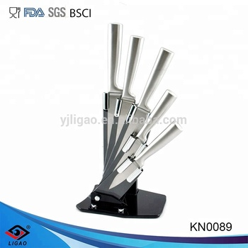 Guangdong Yangjiang Eco-friendly Stainless steel 5pcs knife set