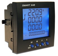 digital power meter panel mounted with 330mV AC input