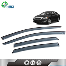 car sun visor  for ALTIMA13-15 window visor chrome matte black accessories